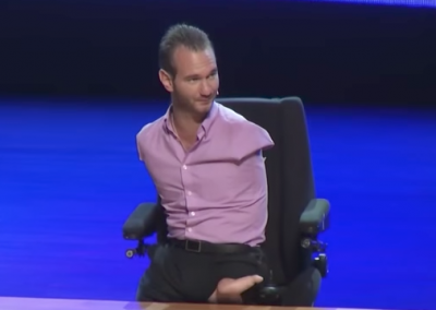 Step out in Faith by Nick Vujicic