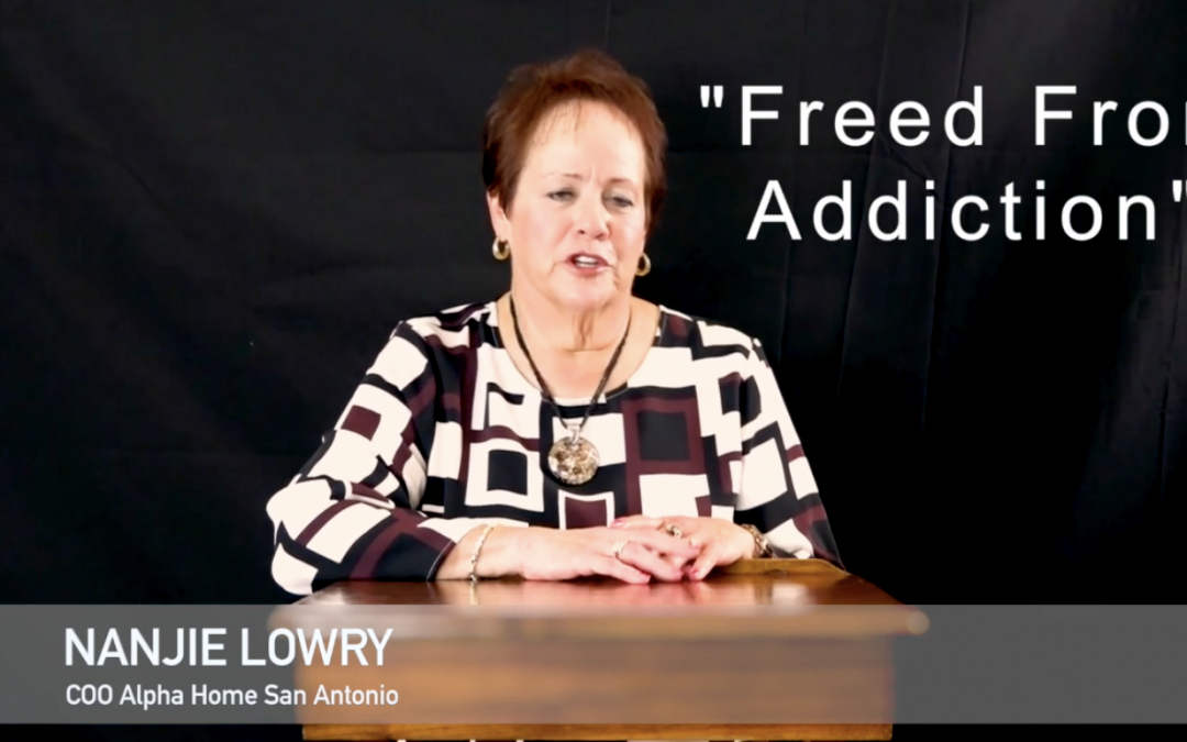 Freed From Addiction by Nangie Lowrie