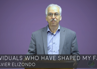 Individuals Who Have Shaped My Faith by Dr. Javier Elizondo